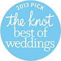 2013 The Knot Best of Weddings Award