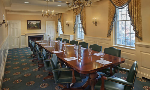 The Amherst Boardroom at the Inn on Boltwood