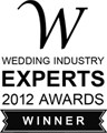 2012 Wedding Industry Experts Award
