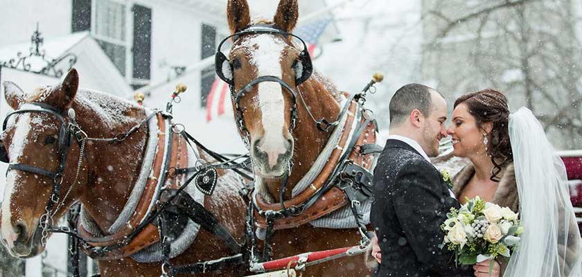 Winter Weddings in New England Amherst, MA