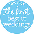 2019 The Knot Best of Weddings Award